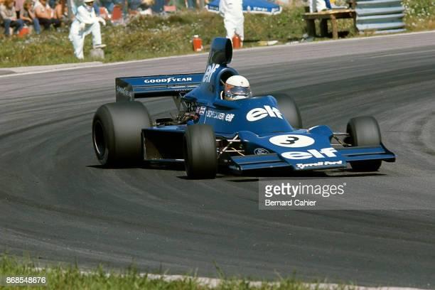 Jody Scheckter TyrrellFord 007 Grand Prix of Sweden Anderstorp Raceway 08 June 1975