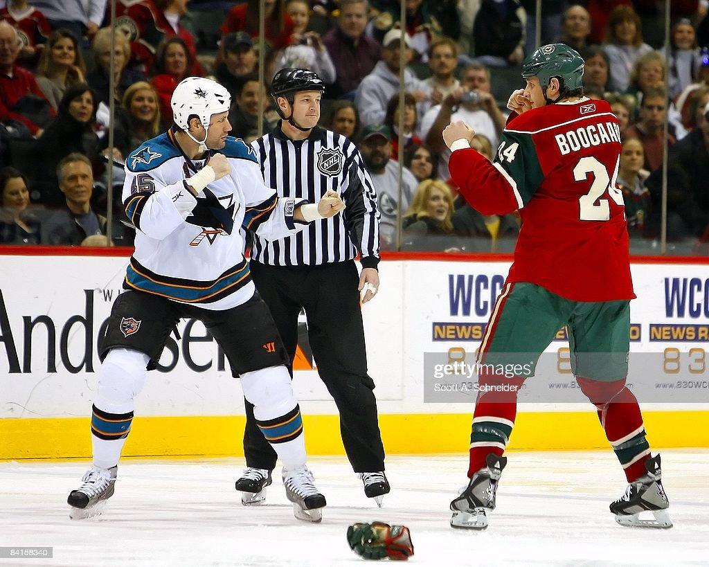 San Jose Sharks v Minnesota Wild : News Photo