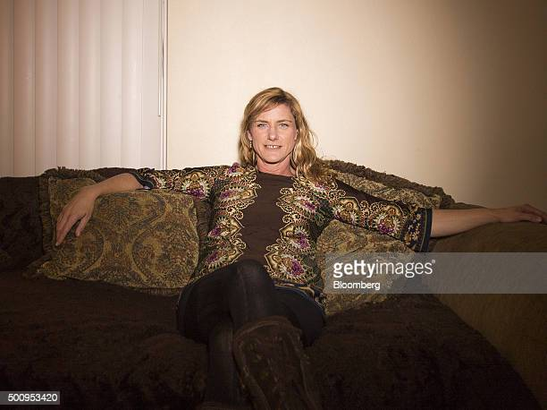 Jody Sofia sits for a photograph at her home in Ocean Park Washington US on Tuesday Dec 8 2015 Sofia borrowed $92500 to get a degree from Florida...