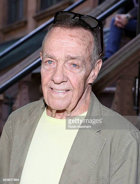 """Joe Allen attends the """"It's Only A Play"""" Cast Photocall at Joe Allen Restaurant on August 19, 2014 in New York City."""