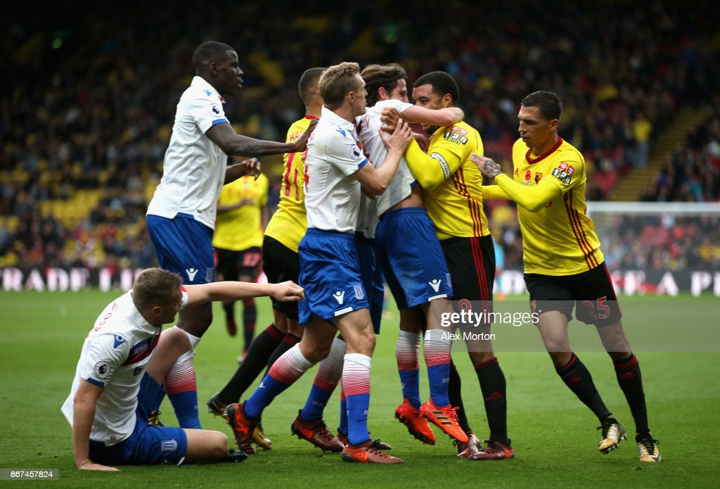 Watford v Stoke City - Premier League