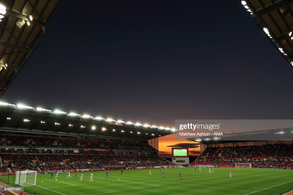 Stoke City v Rochdale - Carabao Cup Second Round