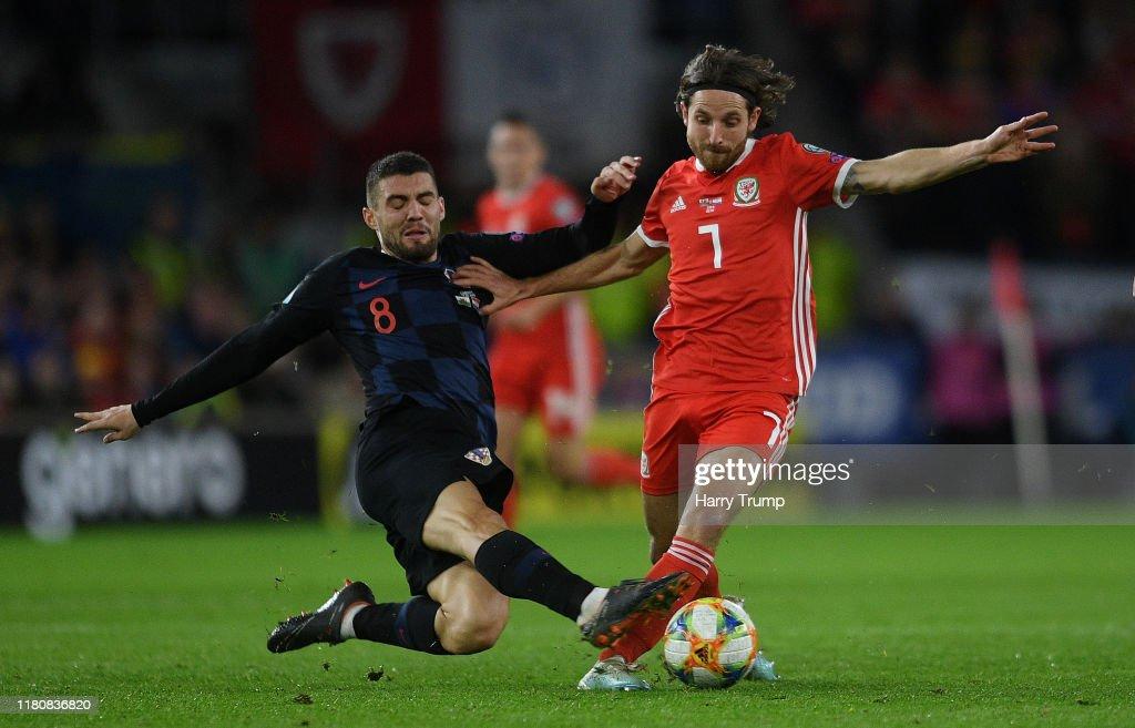 Wales v Croatia - UEFA Euro 2020 Qualifier : ニュース写真