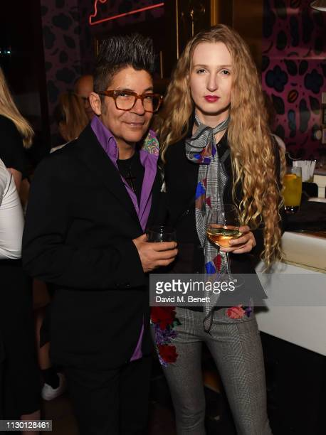 Joe Alvarez and Tamara A Orlova attend a special screening of a new short film directed by Rankin against FGM hosted by Waris Dirie and Coco de Mer...