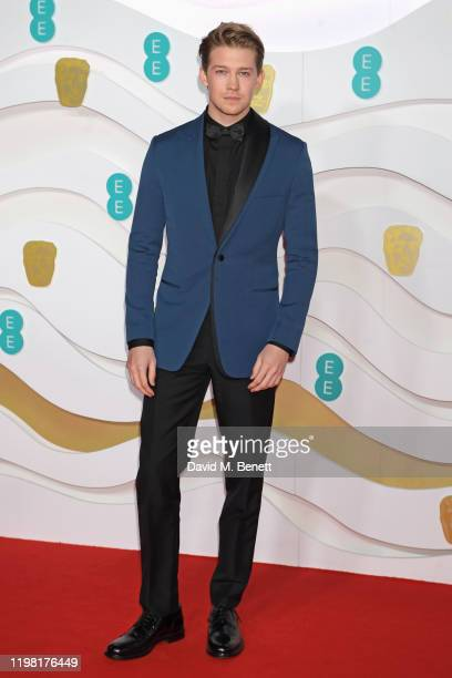 Joe Alwyn arrives at the EE British Academy Film Awards 2020 at Royal Albert Hall on February 2 2020 in London England