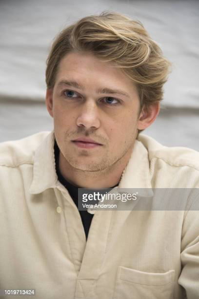 Joe Alwyn at the Operation Finale Press Conference at the Essex House on August 18 2018 in New York City
