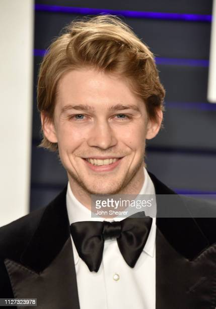 Joe Alwyn attends the 2019 Vanity Fair Oscar Party hosted by Radhika Jones at Wallis Annenberg Center for the Performing Arts on February 24 2019 in...