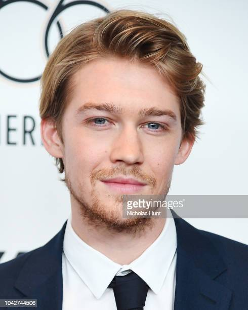Joe Alwyn attends the 56th New York Film Festival Opening Night Premiere Of The Favourite at Alice Tully Hall Lincoln Center on September 28 2018 in...