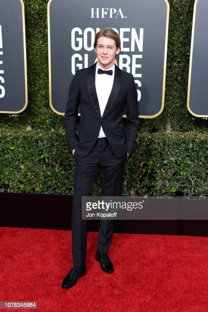 Joe Alwyn attends the 76th Annual Golden Globe Awards at The Beverly Hilton Hotel on January 6 2019 in Beverly Hills California