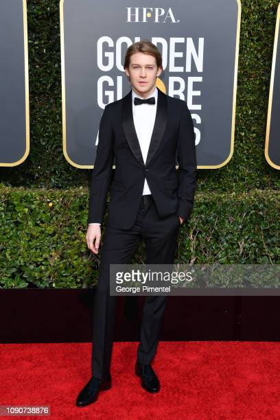 Joe Alwyn attends the 76th Annual Golden Globe Awards held at The Beverly Hilton Hotel on January 06 2019 in Beverly Hills California