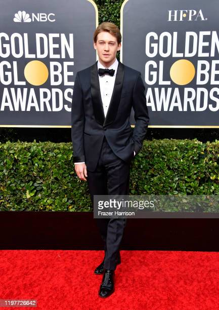 Joe Alwyn attends the 77th Annual Golden Globe Awards at The Beverly Hilton Hotel on January 05 2020 in Beverly Hills California