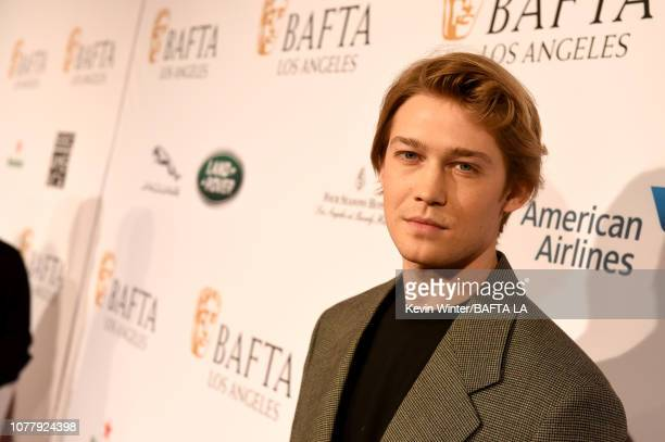 Joe Alwyn attends The BAFTA Los Angeles Tea Party at Four Seasons Hotel Los Angeles at Beverly Hills on January 5 2019 in Los Angeles California
