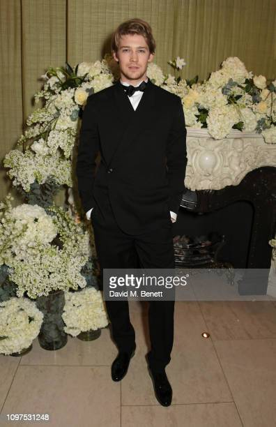 Joe Alwyn attends the British Vogue and Tiffany Co Celebrate Fashion and Film Party at Annabel's on February 10 2019 in London England