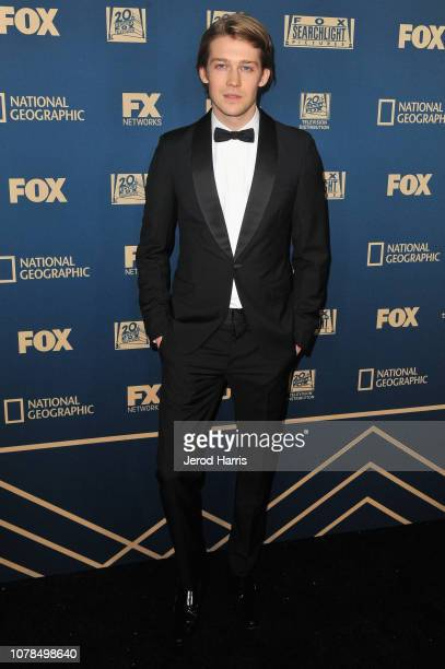 Joe Alwyn attends the FOX FX and Hulu 2019 Golden Globe Awards After Party at The Beverly Hilton Hotel on January 6 2019 in Beverly Hills California