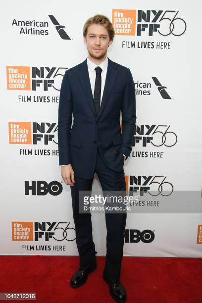 Joe Alwyn attends the opening night premiere of The Favourite during the 56th New York Film Festival at Alice Tully Hall Lincoln Center on September...