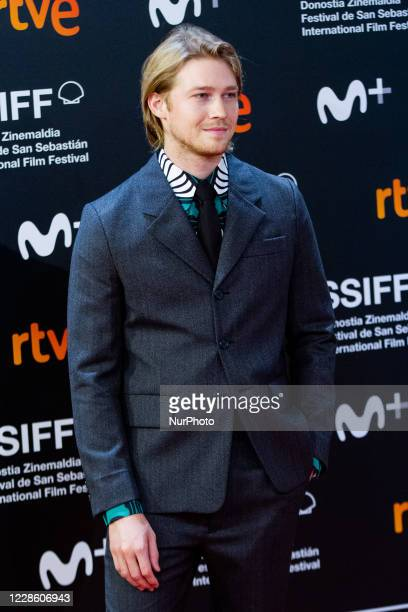 Joe Alwyn attends the 'Rifkin's Festival' Premiere during the 68th San Sebastian International Film Festival at the Kursaal Palace on September 18,...
