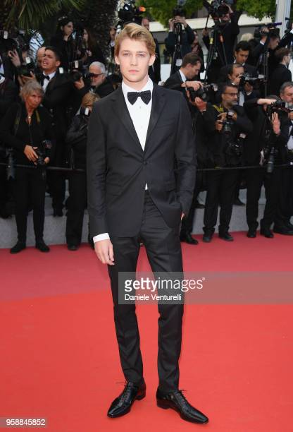 Joe Alwyn attends the screening of Solo A Star Wars Story during the 71st annual Cannes Film Festival at Palais des Festivals on May 15 2018 in...