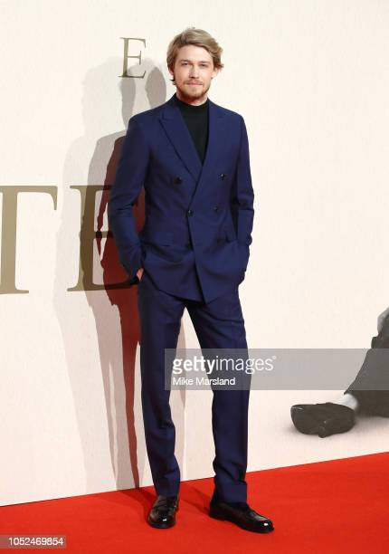 Joe Alwyn attends the UK Premiere of The Favourite American Express Gala at the 62nd BFI London Film Festival on October 18 2018 in London England
