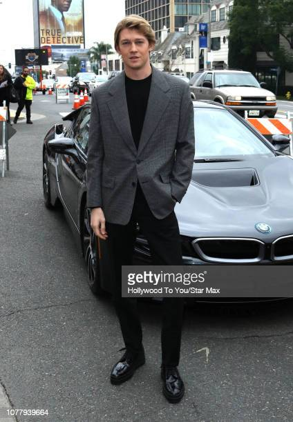 Joe Alwyn is seen on January 5 2019 in Los Angeles CA