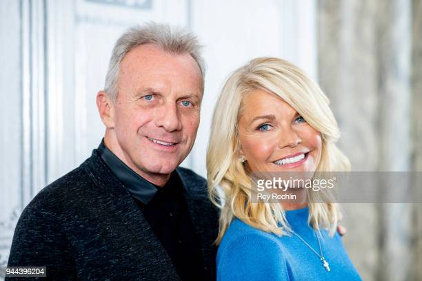 Joe and Jennifer Montana discuss Breakaway from Heart Disease with the Build Series at Build Studio on April 10 2018 in New York City