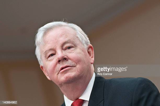 Joe Barton speaks during a Congressional Briefing on Protecting Children and Teen Online Privacy at the Rayburn House Office Building on March 7 2012...