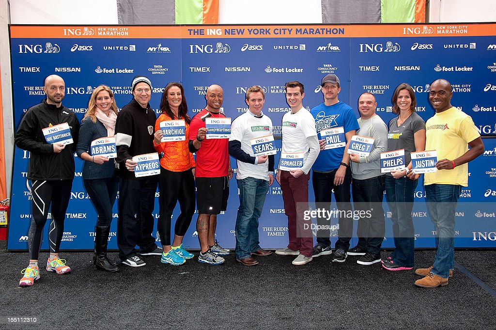 2012 ING New York City Marathon Celebrity Runners Photo Call : News Photo