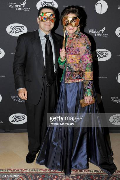 Joe Belfatto and Deb Belfatto attend VIP MASKED BALL for Susan G Komen Headlined by Sir Richard Branson Katie Couric Cornelia Guest HM Queen Noor and...