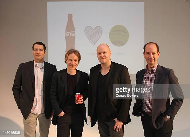 Joe Belliotti Director of Global Music Marketing for The CocaCola Company Emmanuel Seuge Head of Global Sports Entertainment Marketing for The...