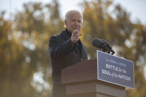 IA: Joe Biden Hosts Drive-In Get Out The Vote Event In Iowa