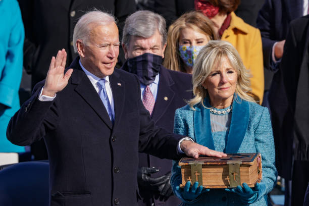 DC: Joe Biden Sworn In As 46th President Of The United States At U.S. Capitol Inauguration Ceremony