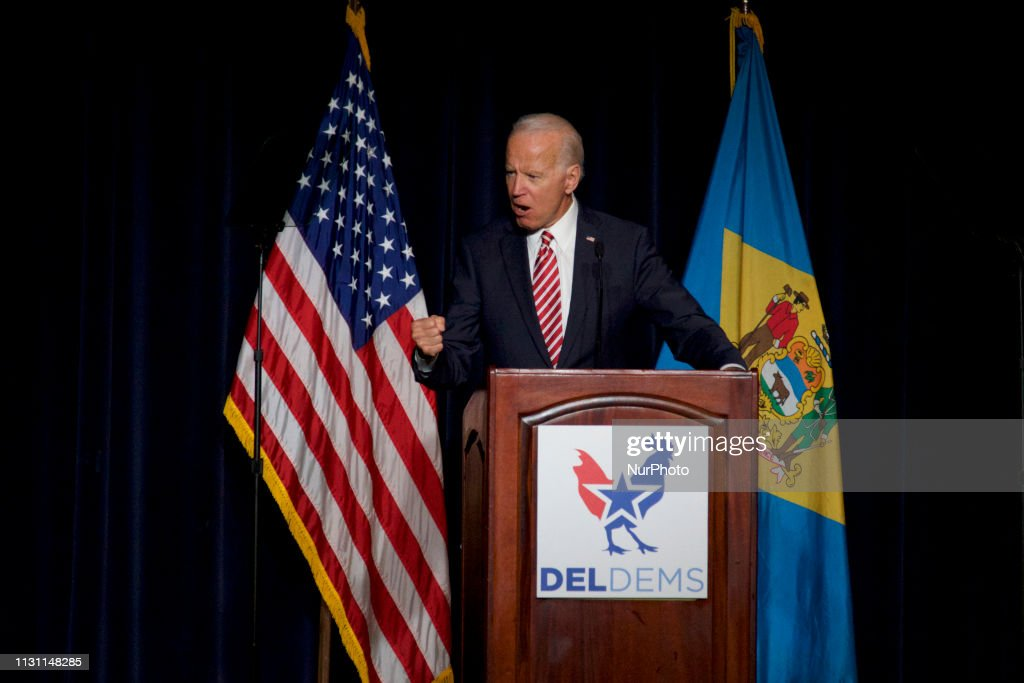 Biden Keynotes First State Democratic Dinner In Dover : News Photo