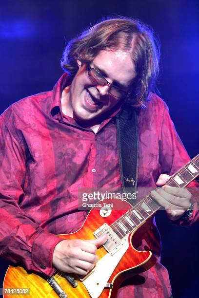 Joe Bonamassa in concert during the North Sea Jazz Festival at Ahoy' in Rotterdam, The Netherlands July 14, 2007.
