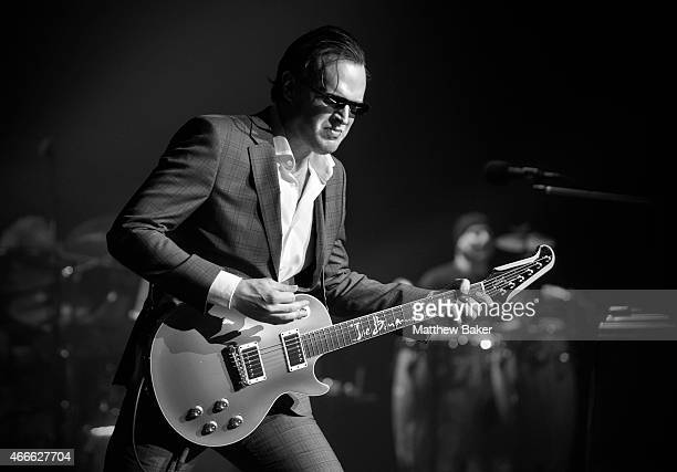 Joe Bonamassa performs at Eventim Apollo on March 17 2015 in London England