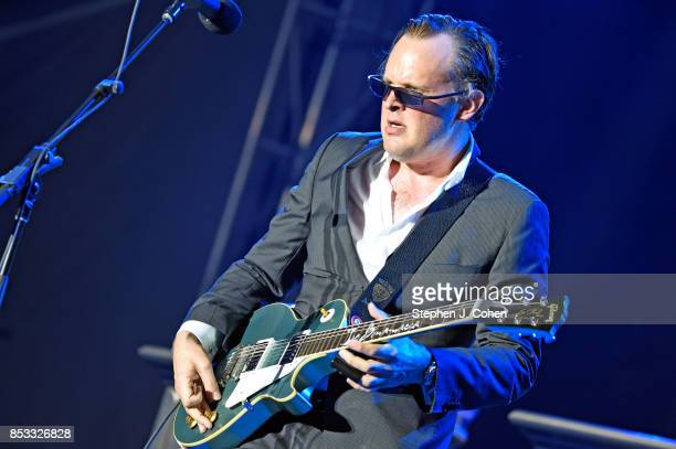 Joe Bonamassa performs at the inaugural Bourbon Beyond Festival at Champions Park on September 24 2017 in Louisville Kentucky
