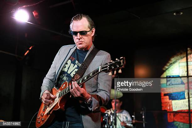 Joe Bonamassa performs on stage at The Cavern on June 27 2016 in Liverpool England