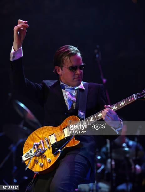 Joe Bonamassa performs on stage at the Royal Albert Hall on May 4 2009 in London England