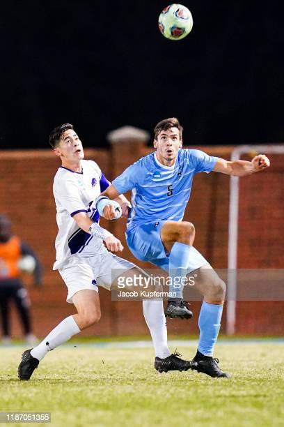 Joe Braun of Tufts Jumbos during the Division III Men's Soccer Championship held at UNCG Soccer Stadium on December 7 2019 in Greensboro North...