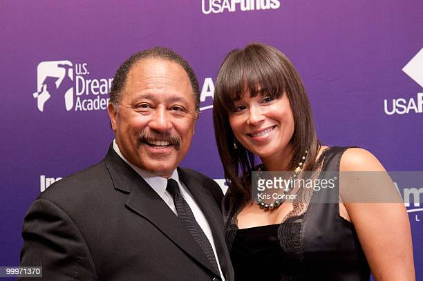 Joe Brown and Deborah Herron attend the 9th annual Power of a Dream gala hosted by the US Dream Academy at the Ritz Carlton Hotel on May 18 2010 in...