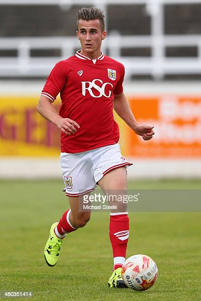 Joe Bryan of Bristol City during the Pre Season Friendly match between Bath City and Bristol City at Twerton Park on July 10 2015 in Bath England