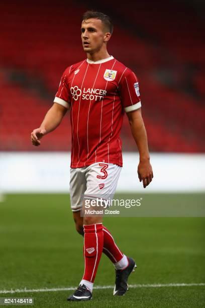 Joe Bryan of Bristol City during the pre season match between Bristol City and FC Twente at Ashton Gate on July 28 2017 in Bristol England