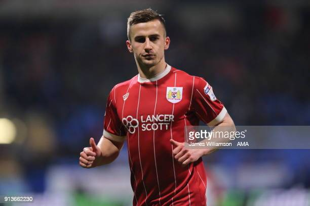 Joe Bryan of Bristol City during the Sky Bet Championship match between Bolton Wanderers and Bristol City at Macron Stadium on February 2 2018 in...