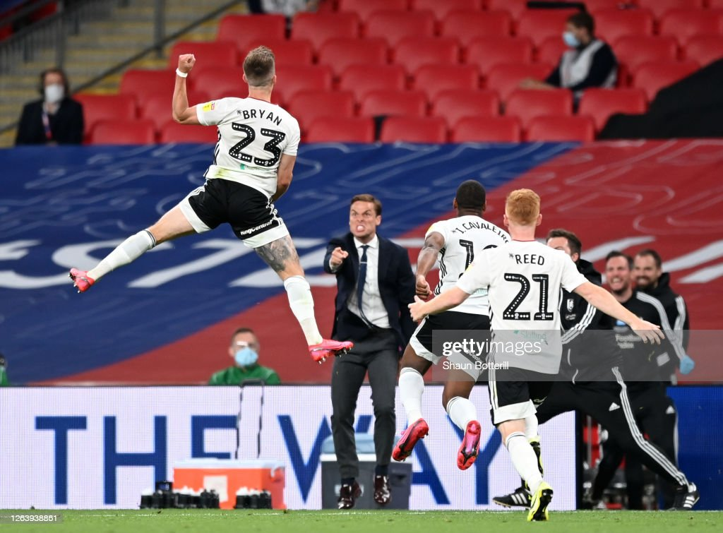 Brentford v Fulham - Sky Bet Championship Play Off Final : News Photo