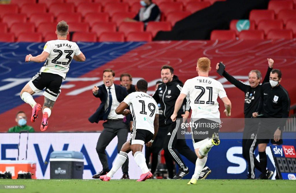 Brentford v Fulham - Sky Bet Championship Play Off Final : News Photo