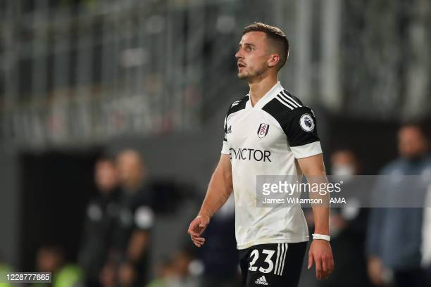 Joe Bryan of Fulham during the Premier League match between Fulham and Aston Villa at Craven Cottage on September 28 2020 in London United Kingdom