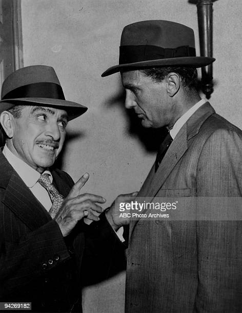 """Joe Bucco, a district Mafia leader, tries to convince Eliot Ness, a federal officer, that he's not responible for a gangland homicide during """"The..."""