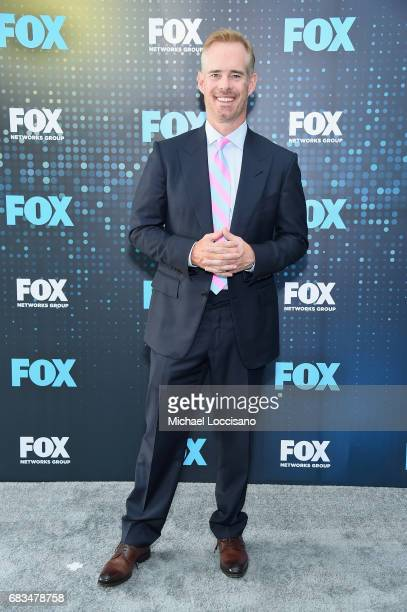 Joe Buck attends the 2017 FOX Upfront at Wollman Rink Central Park on May 15 2017 in New York City