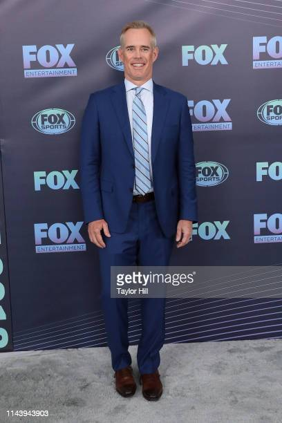 Joe Buck attends the 2019 Fox Upfront at Wollman Rink Central Park on May 13 2019 in New York City