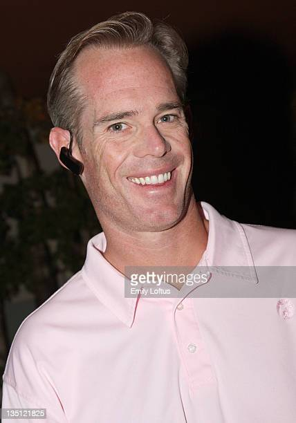 Joe Buck attends the Backstage Creations 2008 American Century Championship Golf Tournament on July 9 2008 in Lake Tahoe California