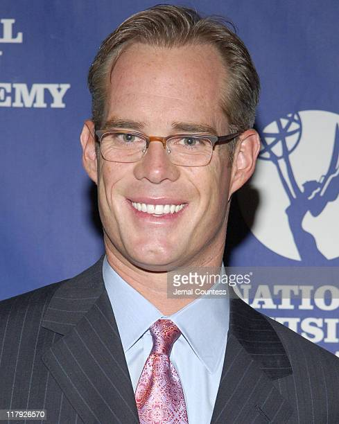 Joe Buck during 26th Annual Sports Emmy Awards Arrivals at Frederick P Rose Hall at Jazz at Lincoln Center in New York City New York United States