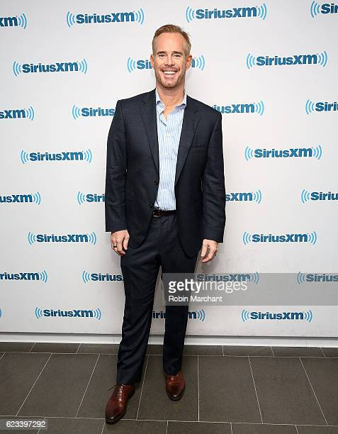 Joe Buck visits at SiriusXM Studio on November 15 2016 in New York City